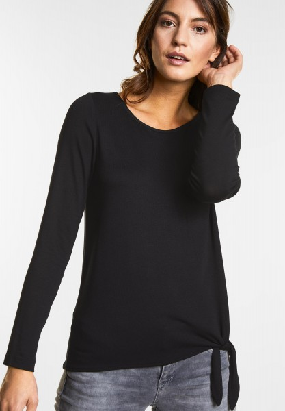 Street One - Softes Shirt Mathea in Black