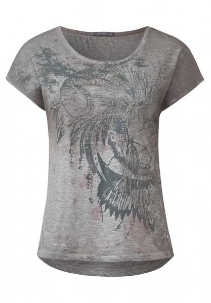 CECIL - Shirt mit Paillettenprint