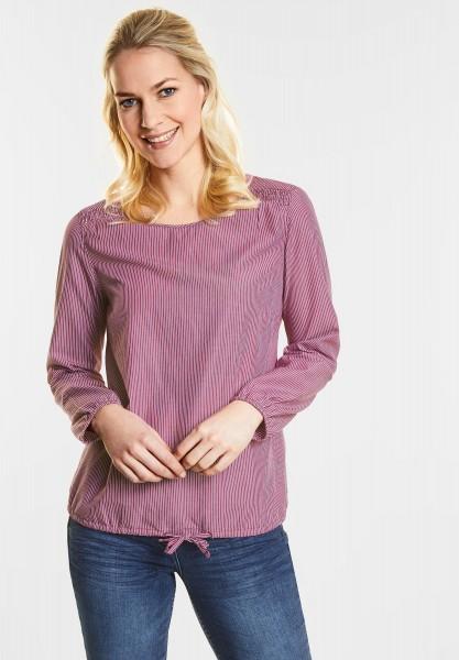 CECIL Leichte Streifen-Bluse in Magic Pink