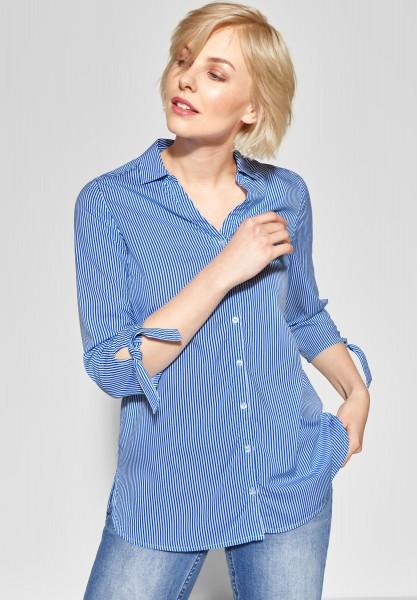 CECIL - Bluse mit Streifenprint in Blouse Blue