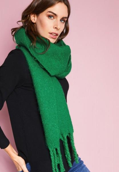 Street One - Cosy Fransen-Schal in Jolly Green