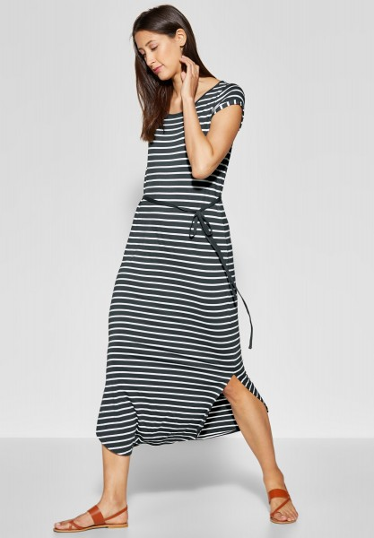 Street One - Jersey Maxi Kleid in Chilled Green