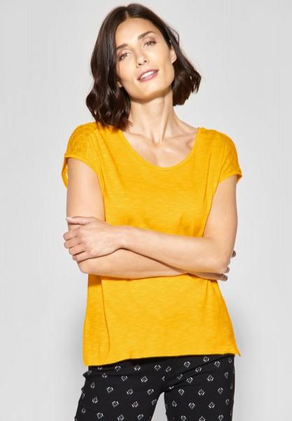Street One - Lockeres Spitzen Shirt Tiara in Bright Clementine