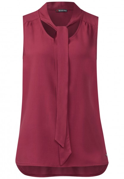 Street One - Top mit Schluppe Elaine Royal Blush