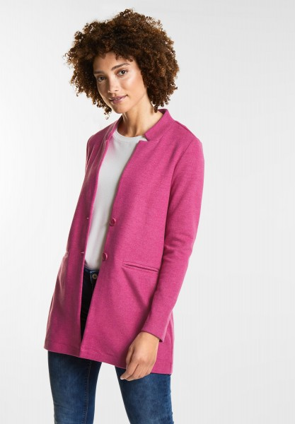 Street One Lange Blazerjacke in Dark Electric Pink
