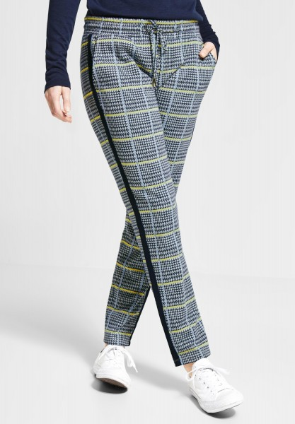 Street One - Karo Joggpants Fay in Deep Blue